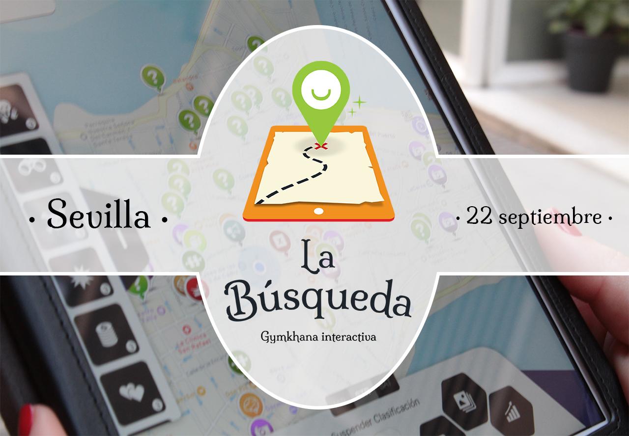 Gymkhana interactiva en Sevilla con iPads